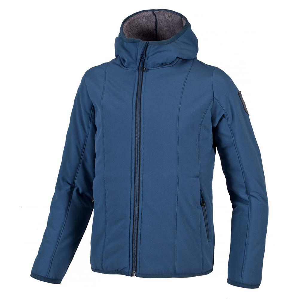Cmp Softshell Jacket Fix Hood / Mineral Grey Girls