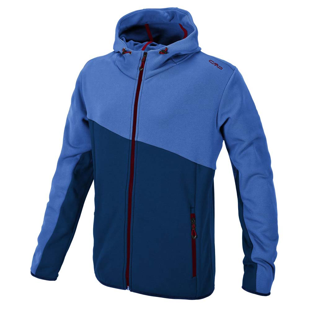 Cmp Fleece Jacket Fix Hood Man