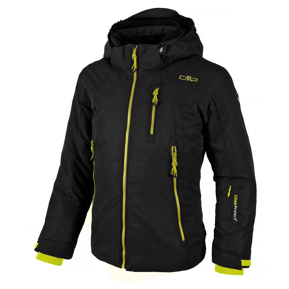 Cmp Ski Jacket Snaps Hood Girls
