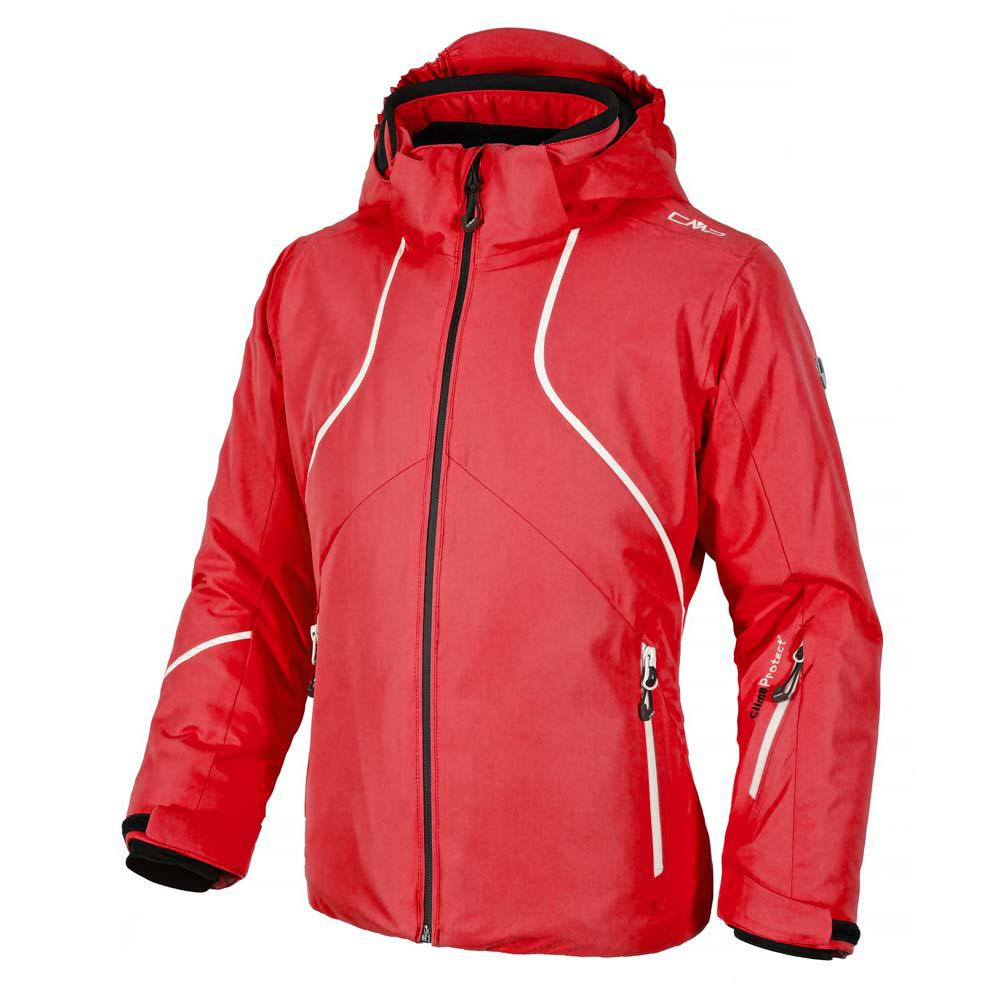 82eb6083b Cmp Ski Jacket Talsan Snaps Hood Girls
