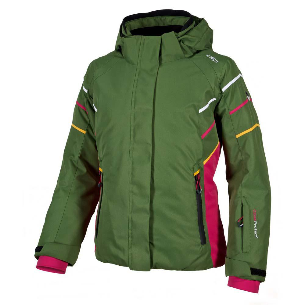 CMP Ski Jacket Twin Snaps Hood Girls