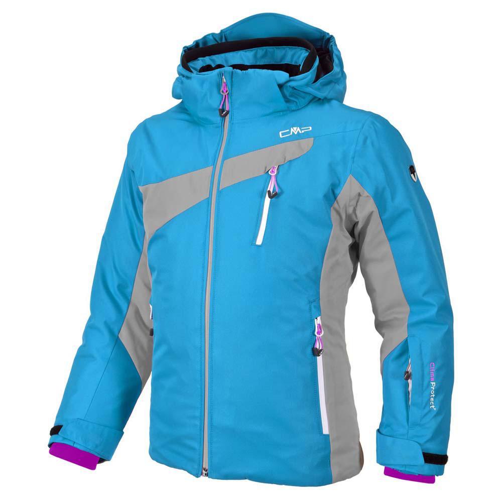 c643e9339 Cmp Ski Jacket Snaps Hood Grey M. Campari Girls