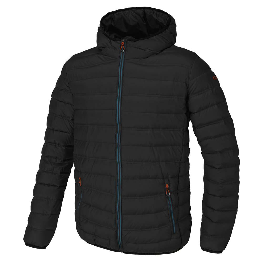 Cmp Jacket Melange Fix Hood