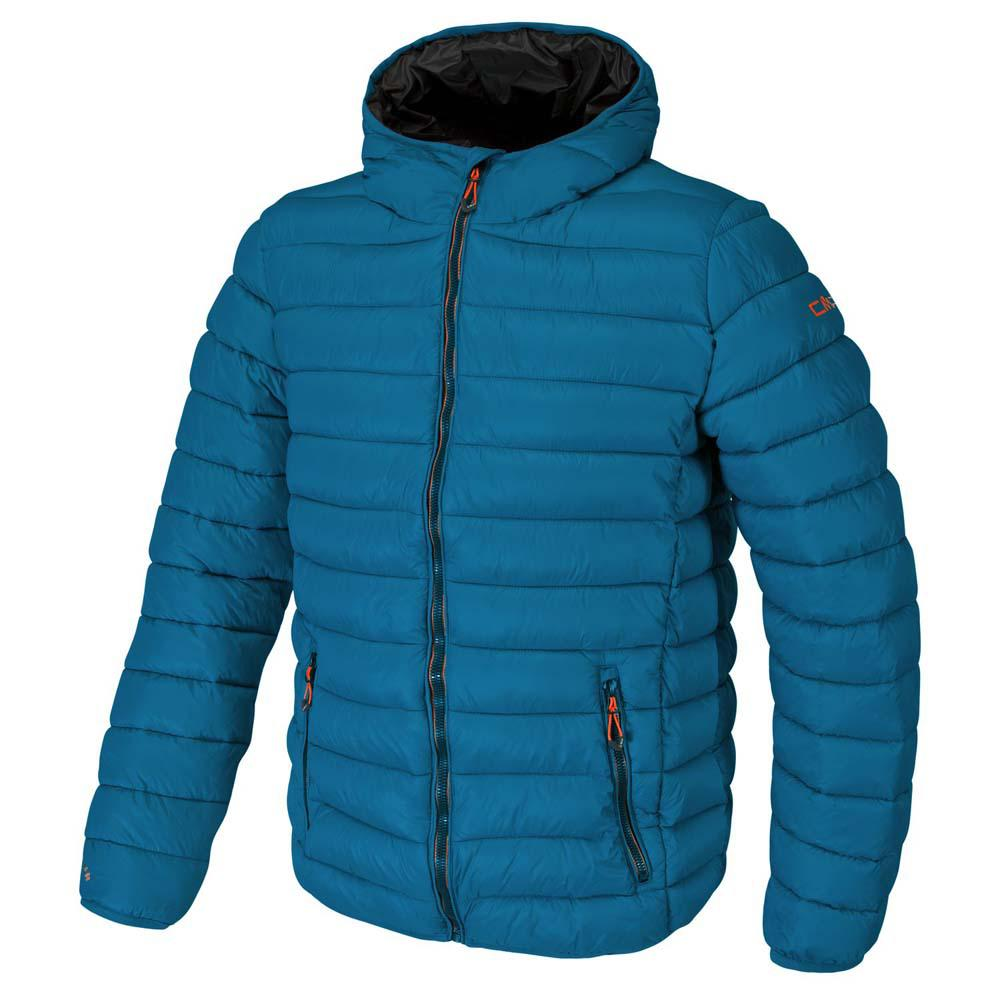 Cmp Jacket Fix Hood Blue