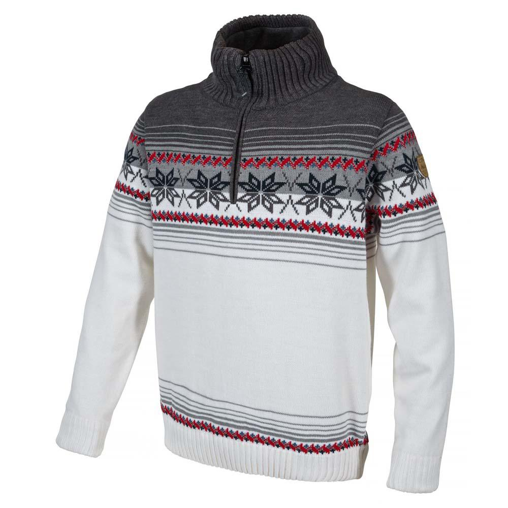 Cmp Knitted Pullover Waterproof B.Co Gesso