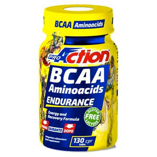 Pro action BCAA Tablets 130 Tabs