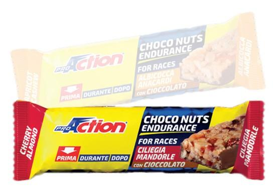 Pro action Choco Nuts Cherry Almond 25 g x 25 Units