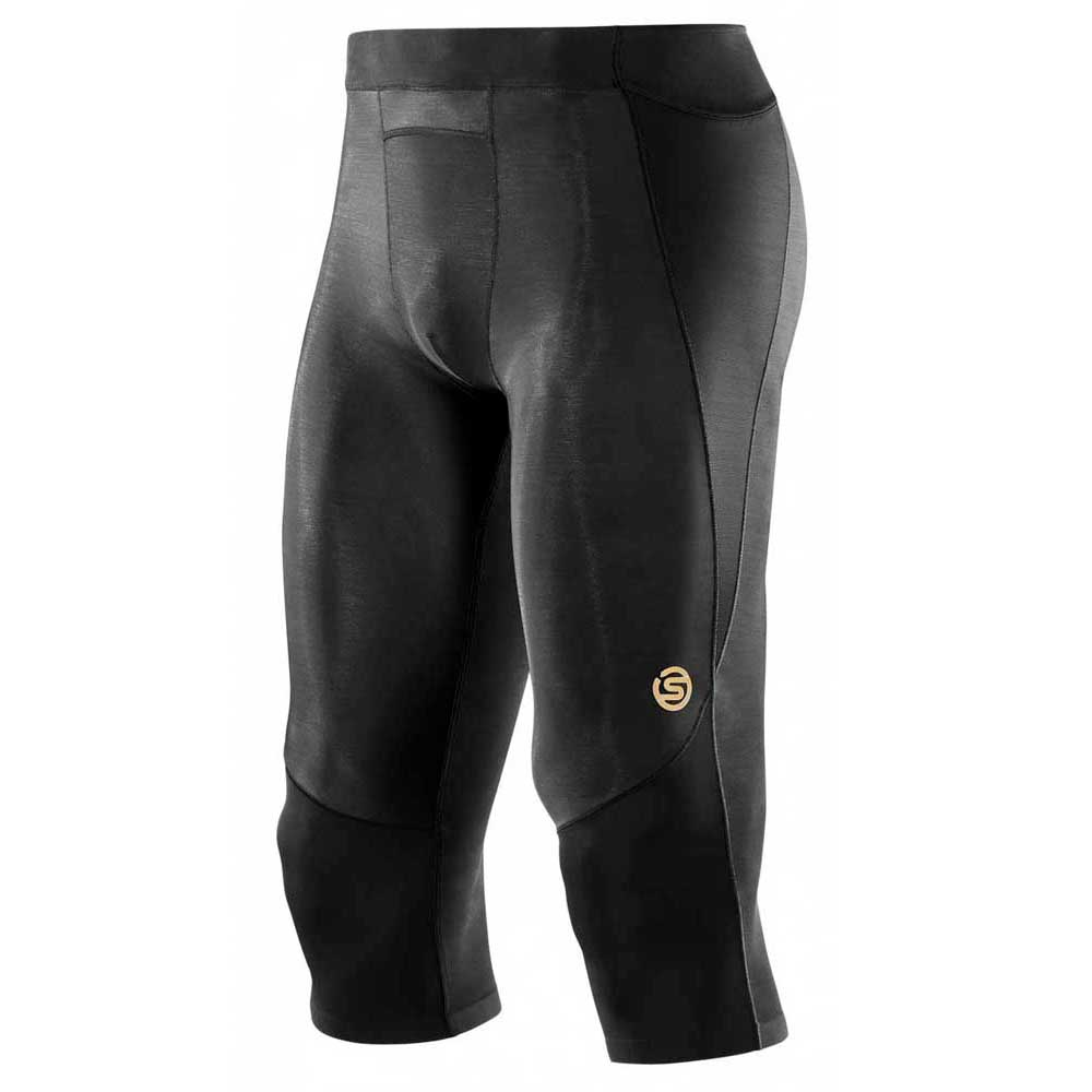 5aeec4f986 Skins A400 3/4 Tights Black buy and offers on Trekkinn