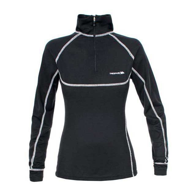 Trespass Zippit 1 / 2 Zip L / S Baselayer