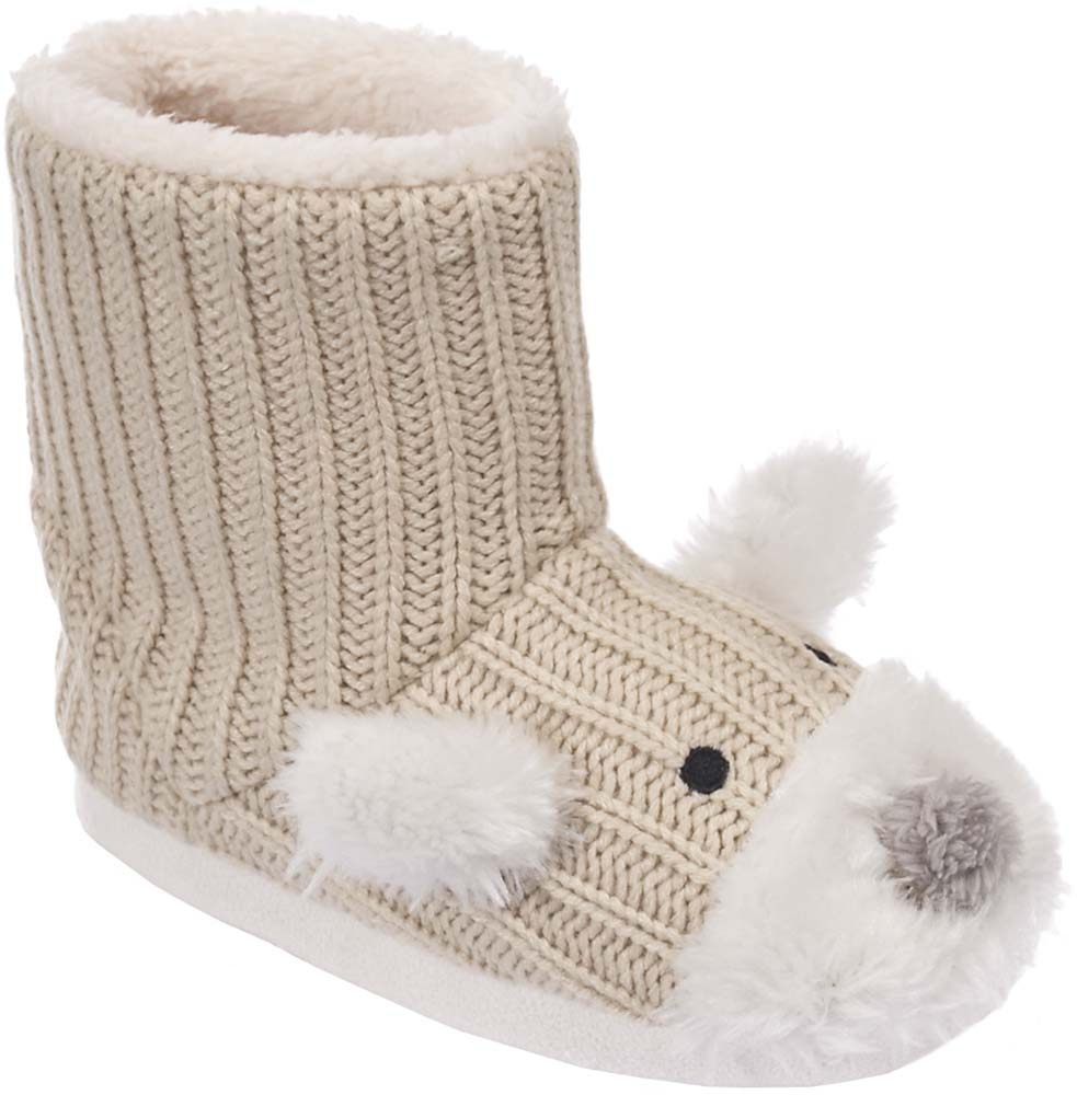Trespass Sootie Slippers Girls