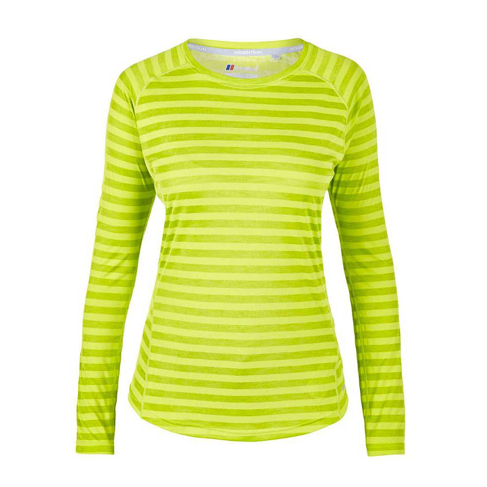 Berghaus Tech Stripe L/s Crew Neck