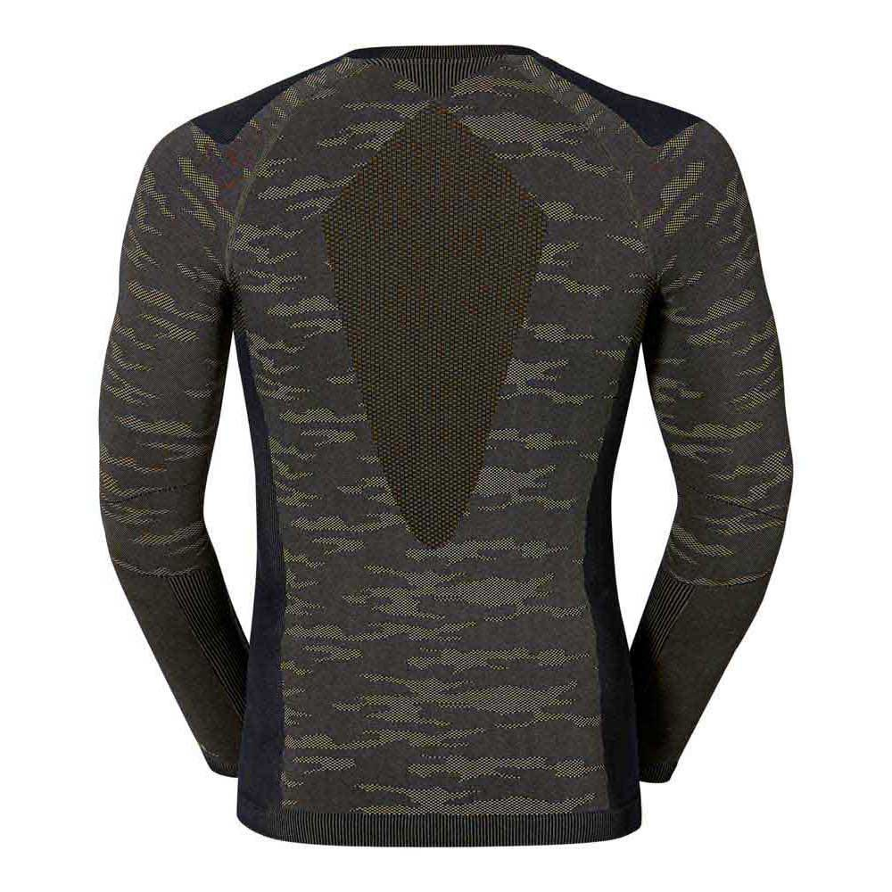 intimo-odlo-shirt-l-s-crew-neck-evolution-warm-black
