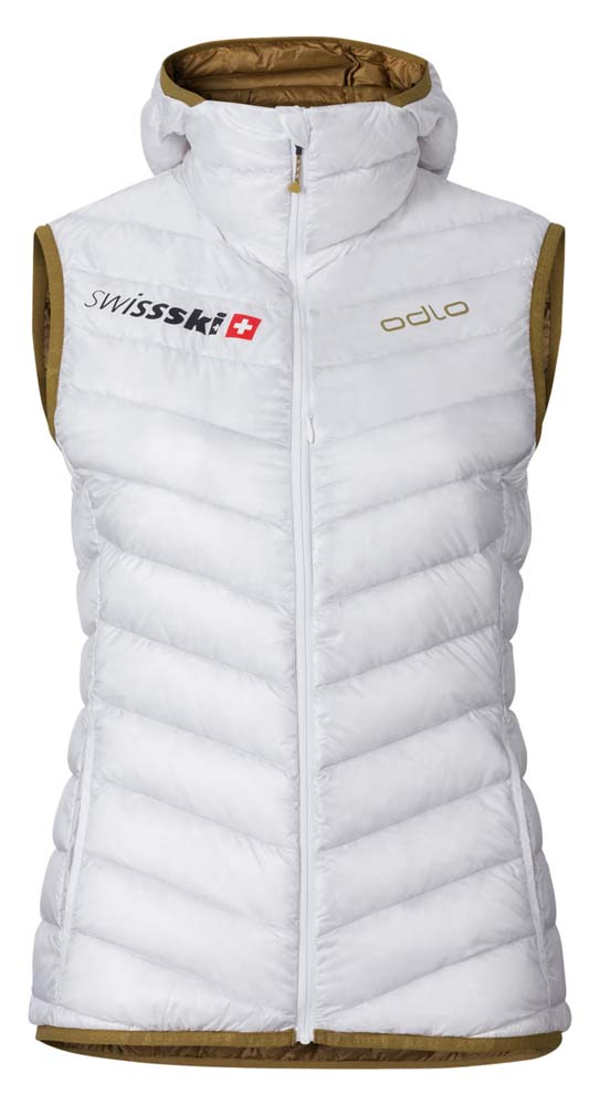 Odlo Vest Air Cocoon Swissski Fan