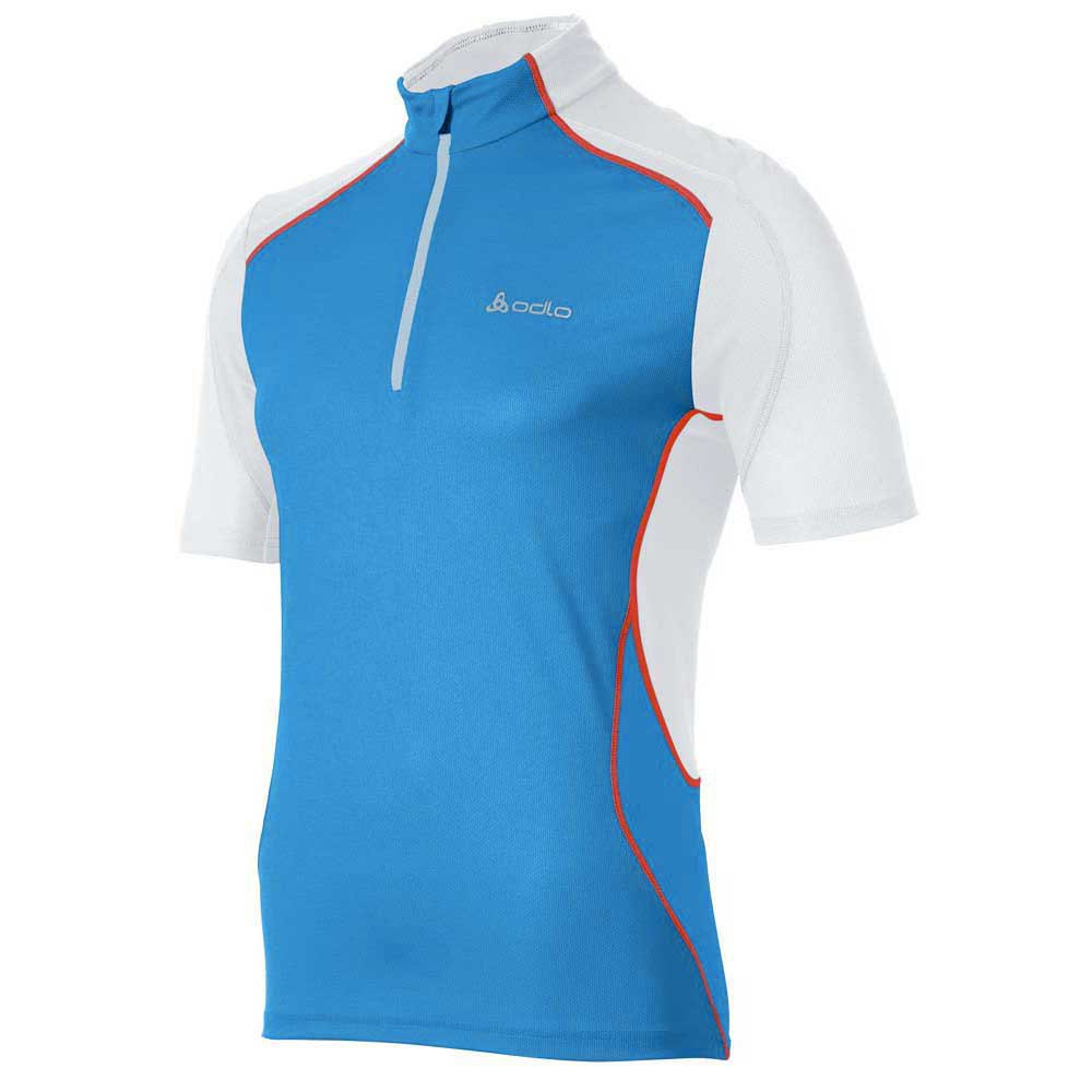 Odlo Stand Up Collar S/S 1/2 Zip Chip