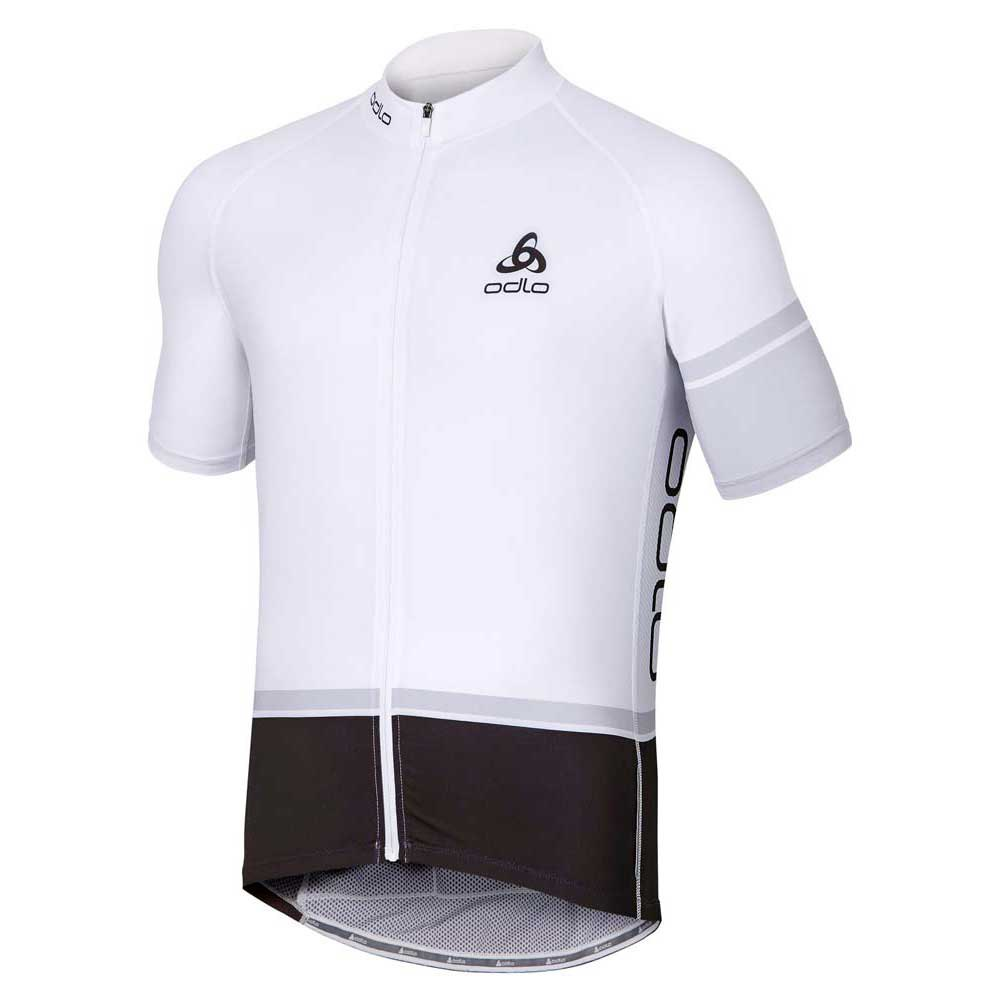 Odlo Stand Up Collar S/S Full Zip Tourmalet