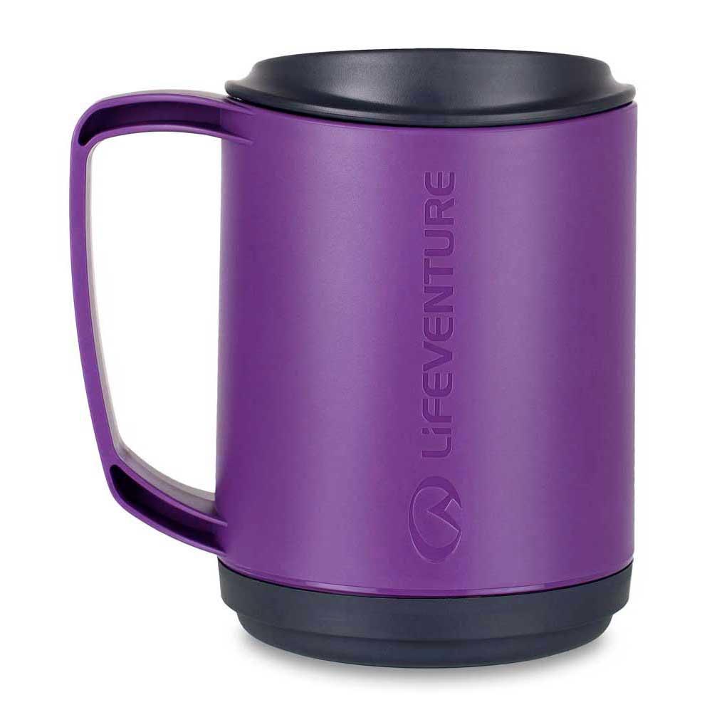 Ellipse Travel Mug Purple