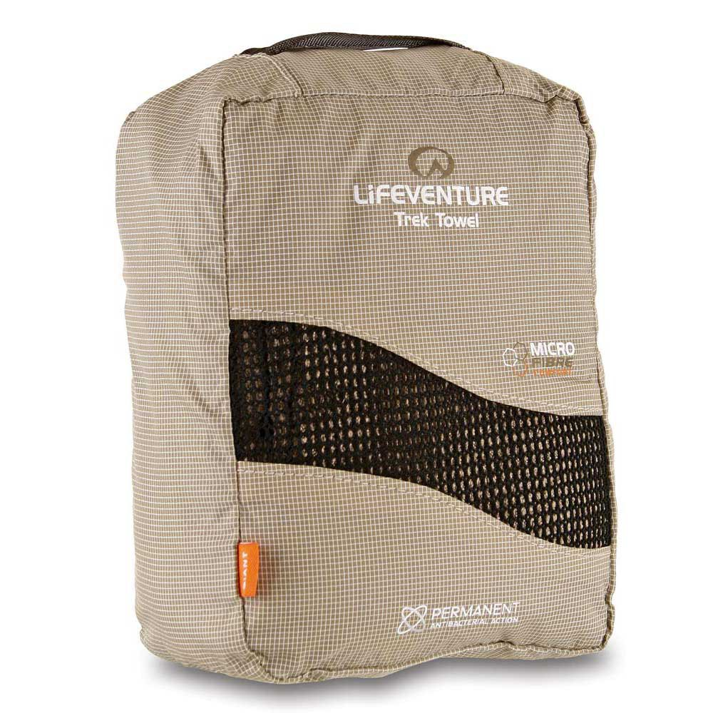 Lifeventure Micro Fibre Trek Towel Giant Plain