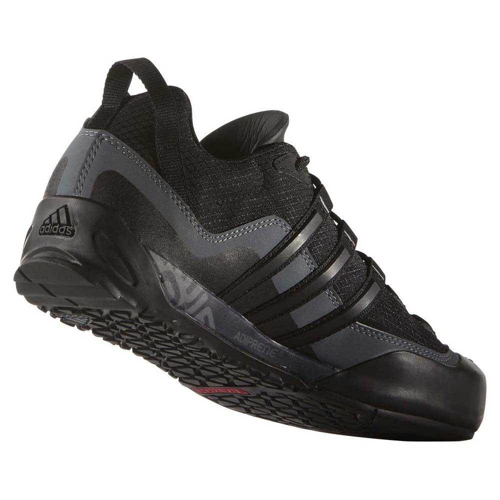 Adidas Terrex Swift Solo Herresko Sko Sort Gratis Retur