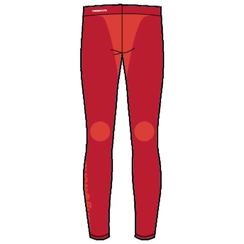 Vêtements intérieurs Trangoworld Rhilo Kids L Red