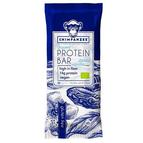 Chimpanzee Protein Bar Dates And Vanilla 45gr