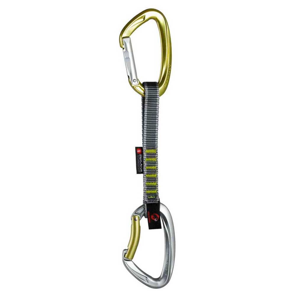 Mammut Crag Indicator Express Set Straight Gate Bent Gate