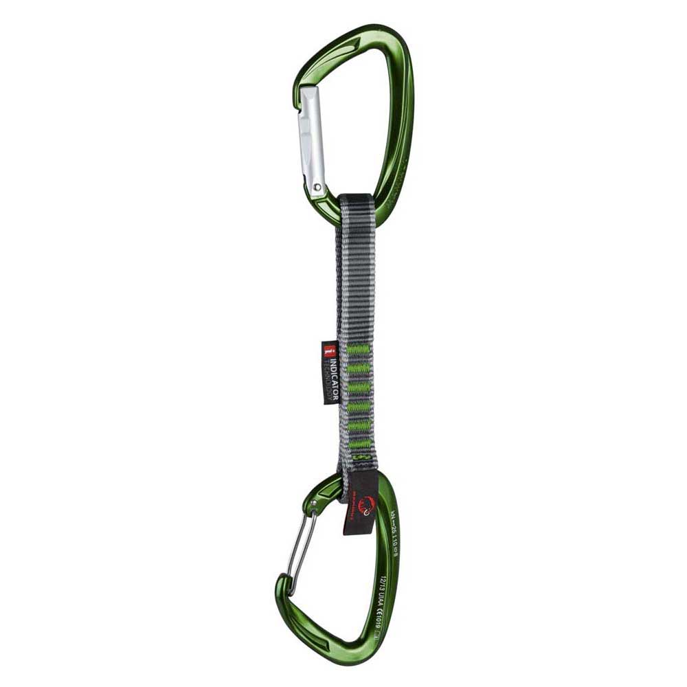 Mammut Crag Indicator Wire Express Set Straight Gate Wire Gate