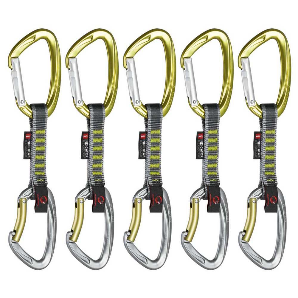 Mammut Pack Crag Indicator Express Sets 5 Units Straight Gate Bent Gate