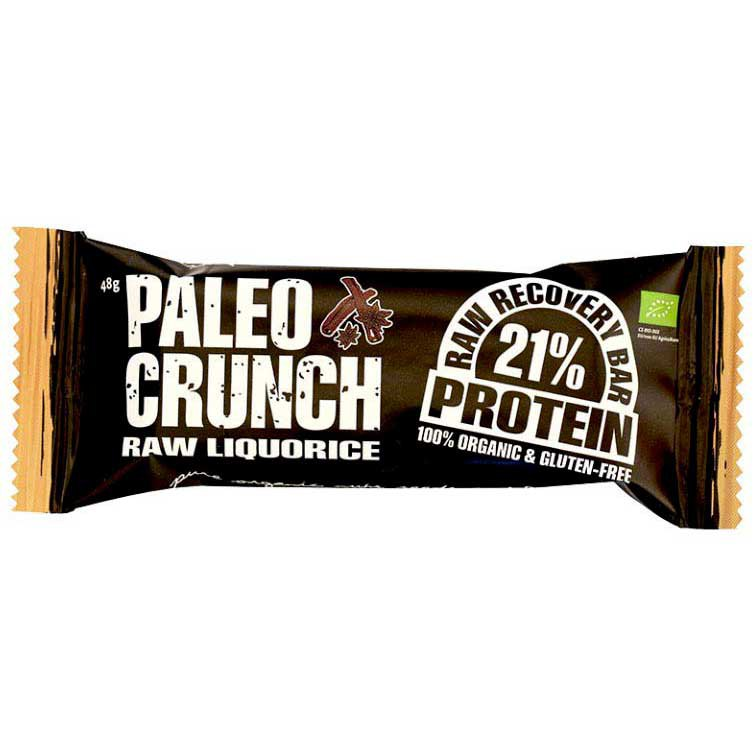 Paleo crunch Bar Raw Liquorice Protein Bar 48gr x 12 Units