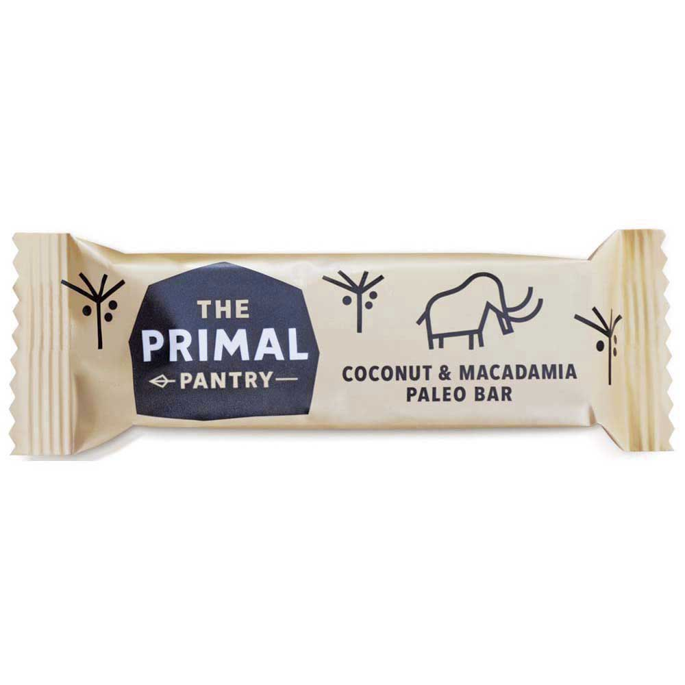The primal pantry Bar Coconut And Macadamia 45gr