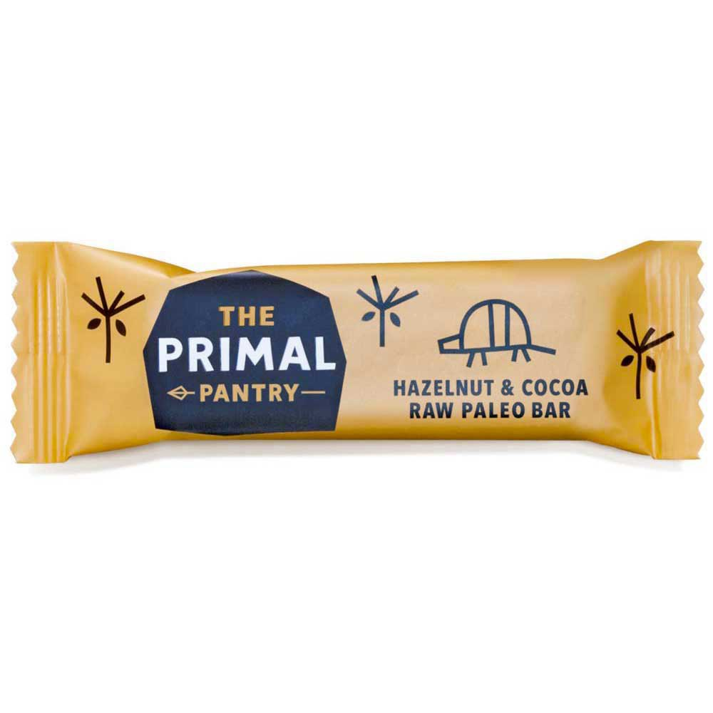 The primal pantry Hazelnut And Cocoa 45gr x 18 Units