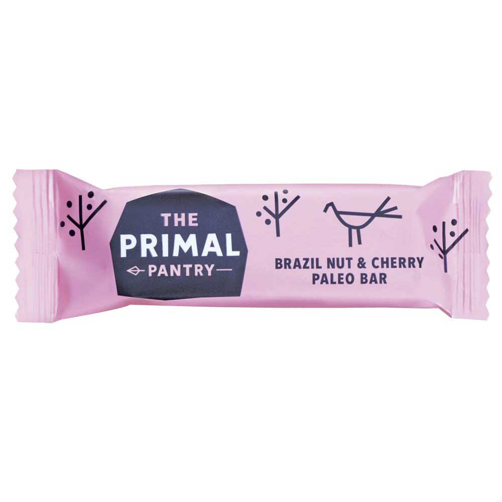 The primal pantry Brazil Nut y Cerezas 45gr x 18 Unidades