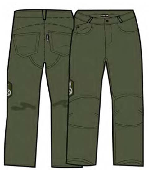 Charko Sight Pants Pana