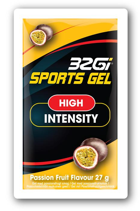 32GI Passion Fruit Sports Gel 27 g