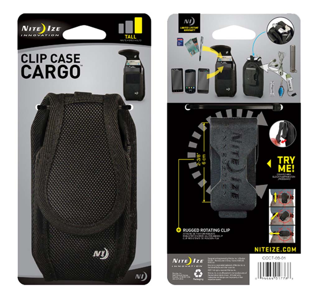 NITE IZE Clip Case Cargo Bag For Mobile