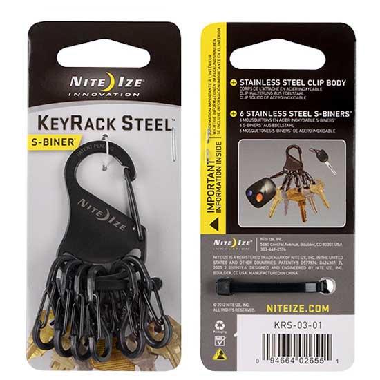 Porte-clés Nite-ize Key Rack 6 Carabiner