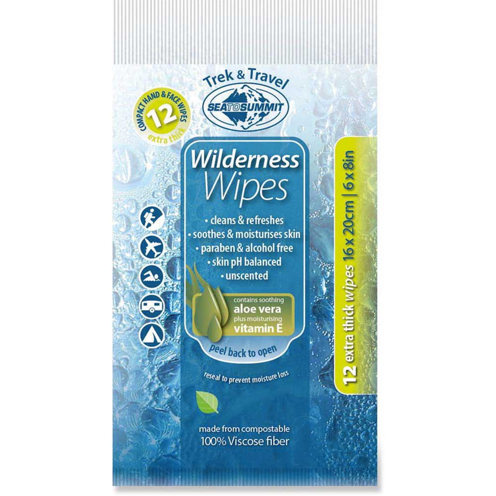 Sea to summit Wilderness Compact 12 Wipes