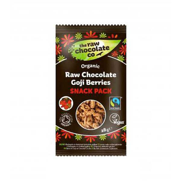 The raw chocolate co Organic Raw Chocolate Goji Berries 28 g