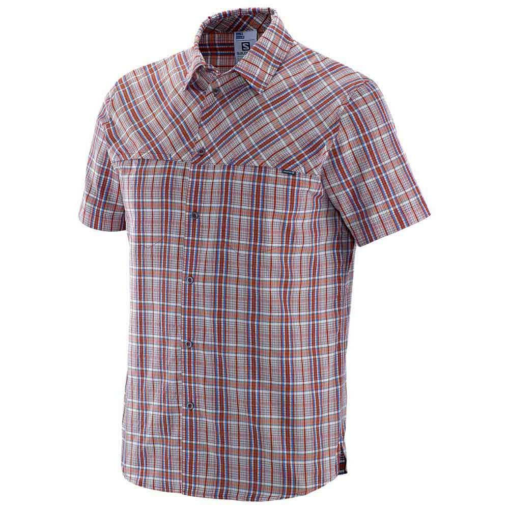 Salomon Radiant Plaid S/S Shirt