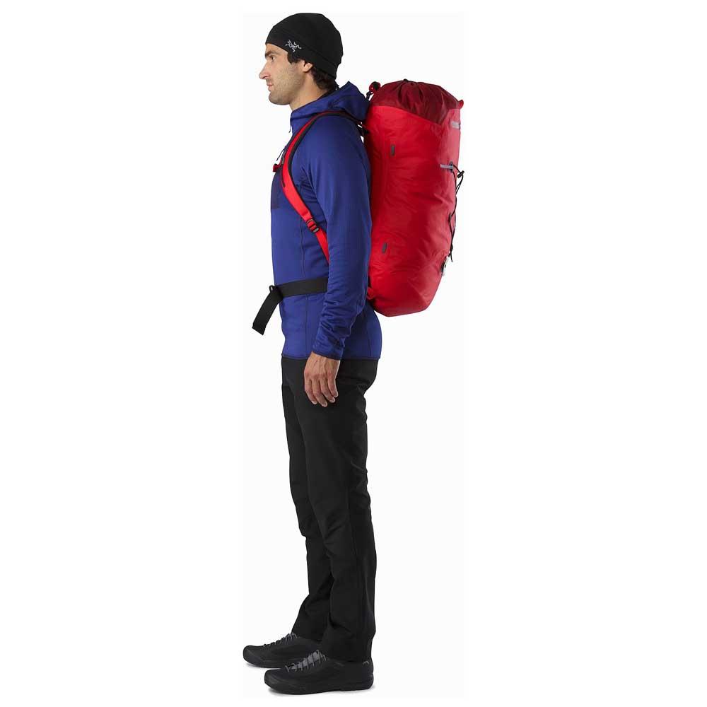 ba0adbaf3ee Arc'teryx Alpha FL 45 Backpack Black, Trekkinn