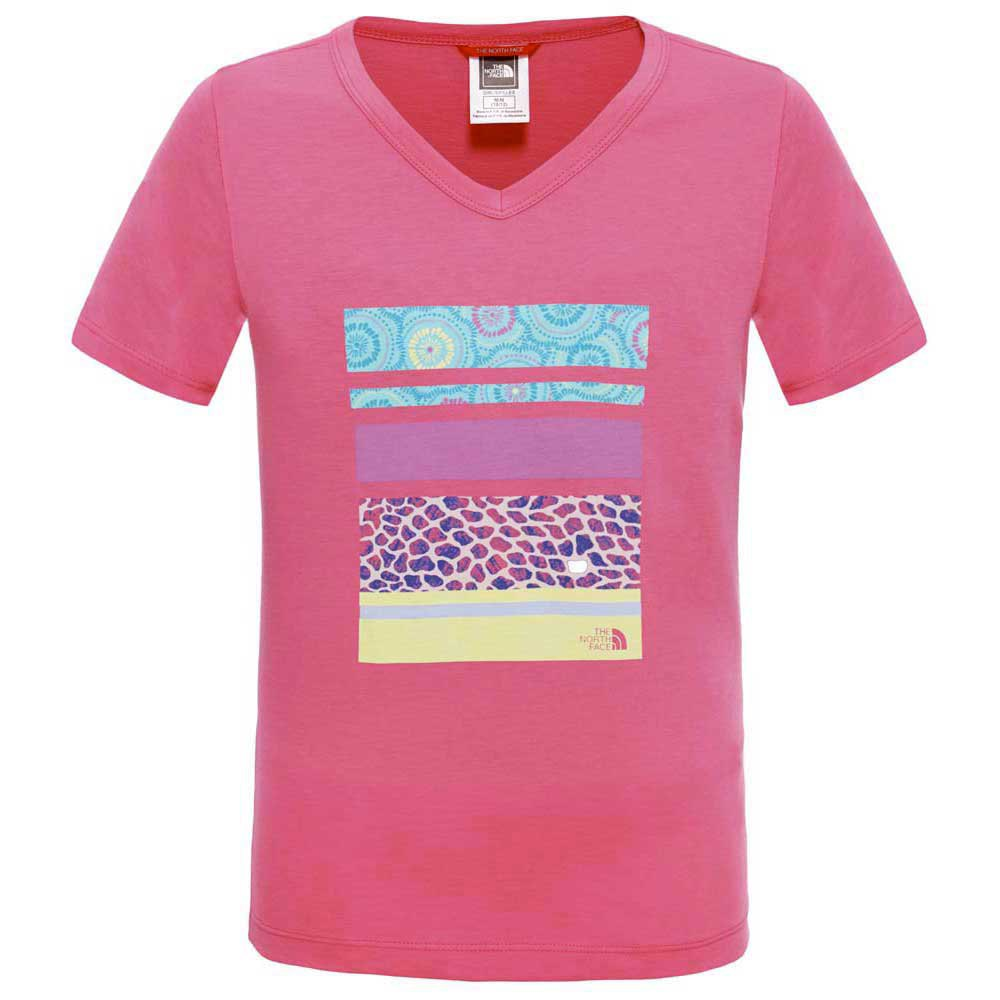 The north face S/S Cotton Logo Tee Girls