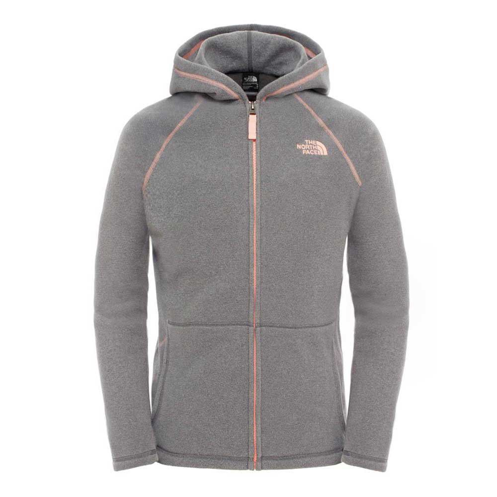 The north face Glacier Full Zip Hoodie Girls