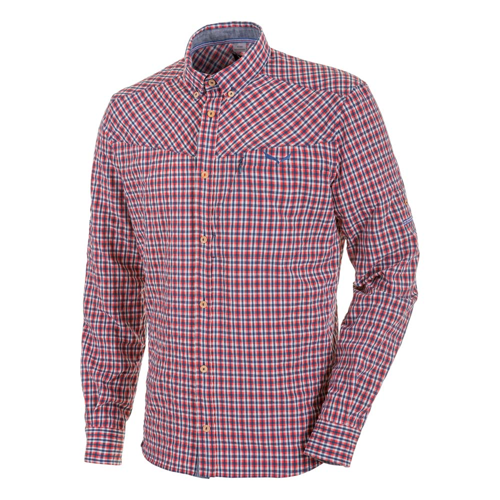 Salewa Fanes Check Dry L/S Shirt