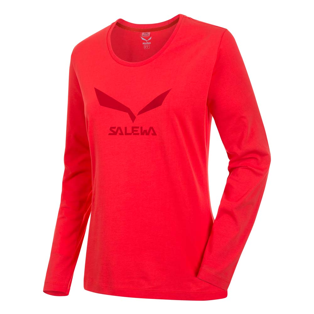 Salewa Solidlogo 2 CO L/S Tee Woman