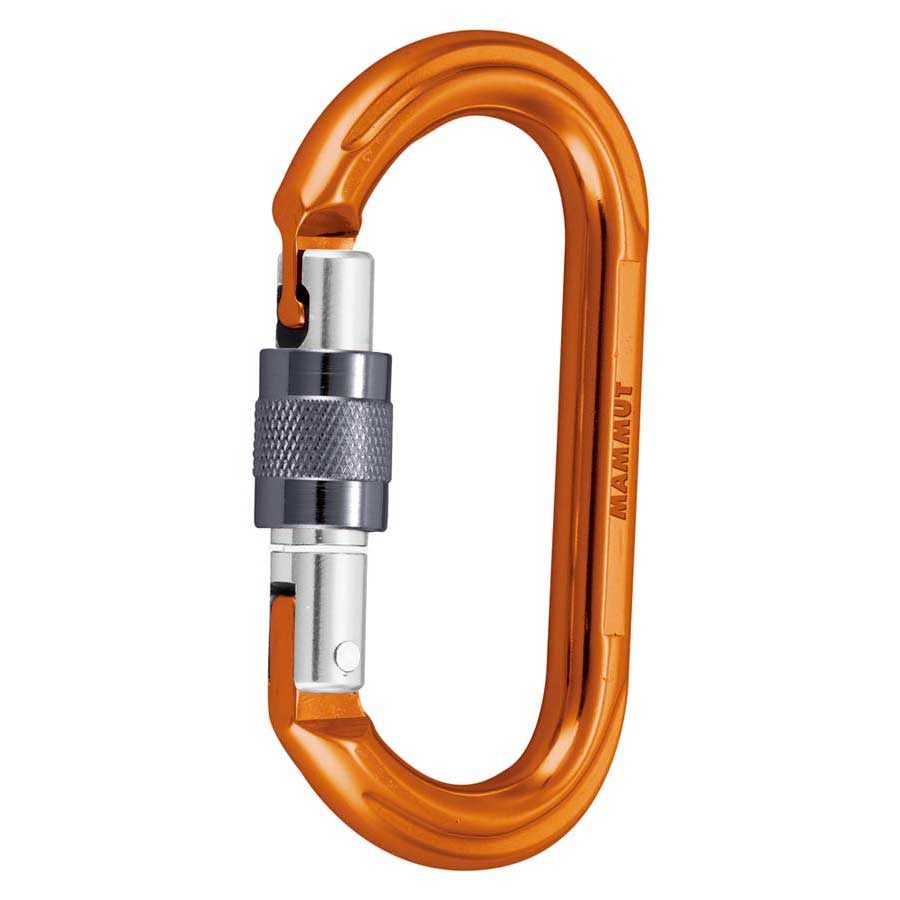Mammut Wall Oval Screw Gate