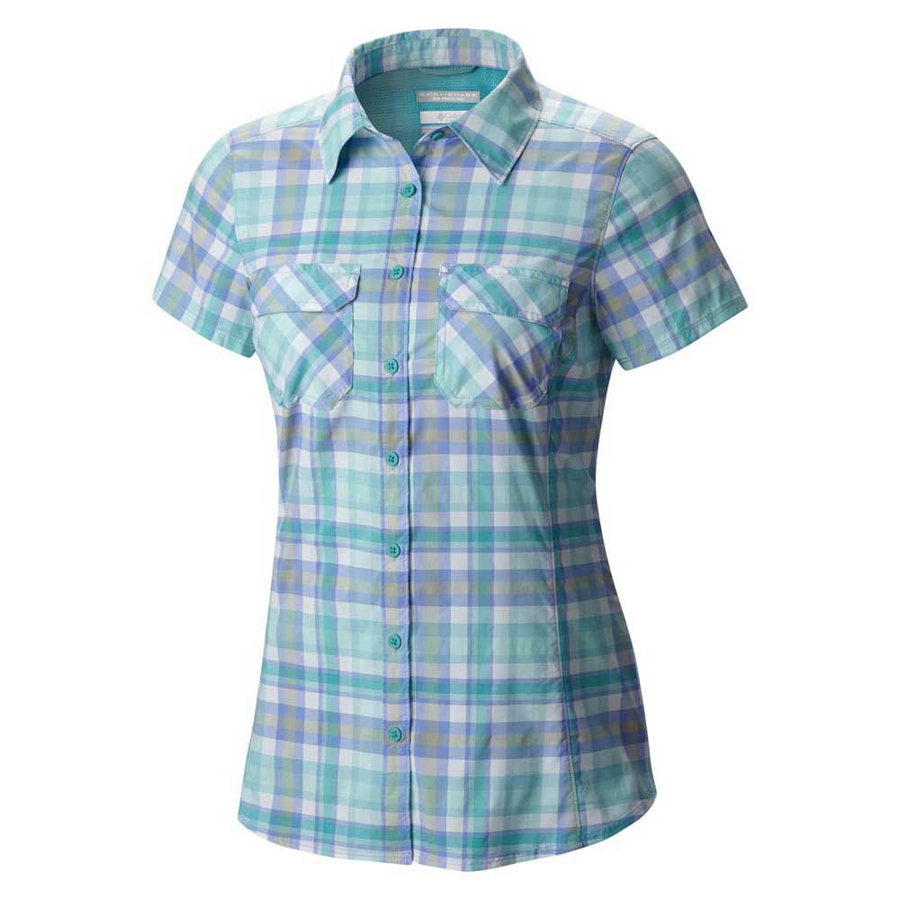 Columbia Saturday Trail III Plaid S/S Shirt