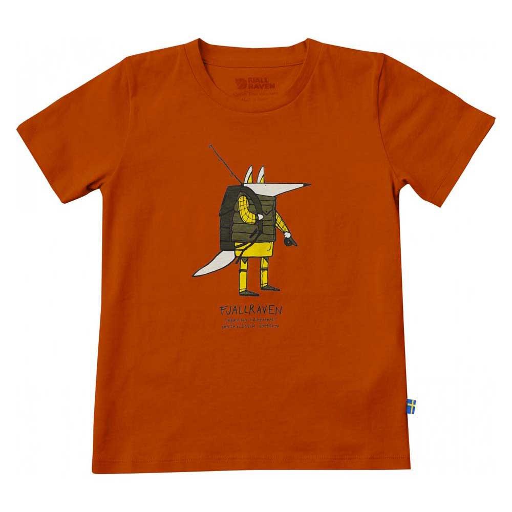 0ad2fa579 Fjällräven Kids Trekking Fox T Shirt, Trekkinn