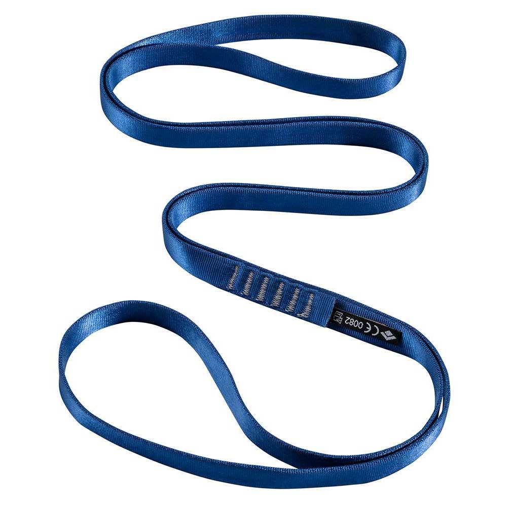 Cordes et sangles Black-diamond 18 Mm Nylon Runner 120 Cm 120 cm Blue