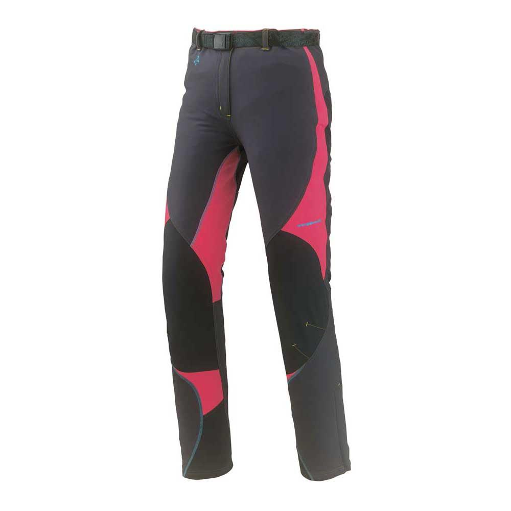 Pantalons Trangoworld Mawenzi Pants XL Anthracite / Fandango Pink