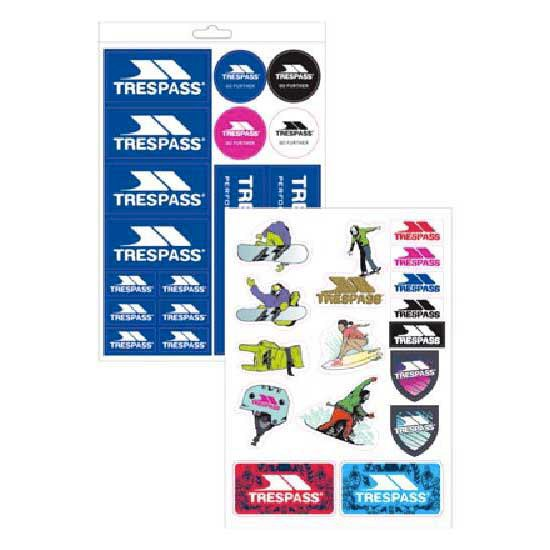 Trespass Die Cut Sticker Kit