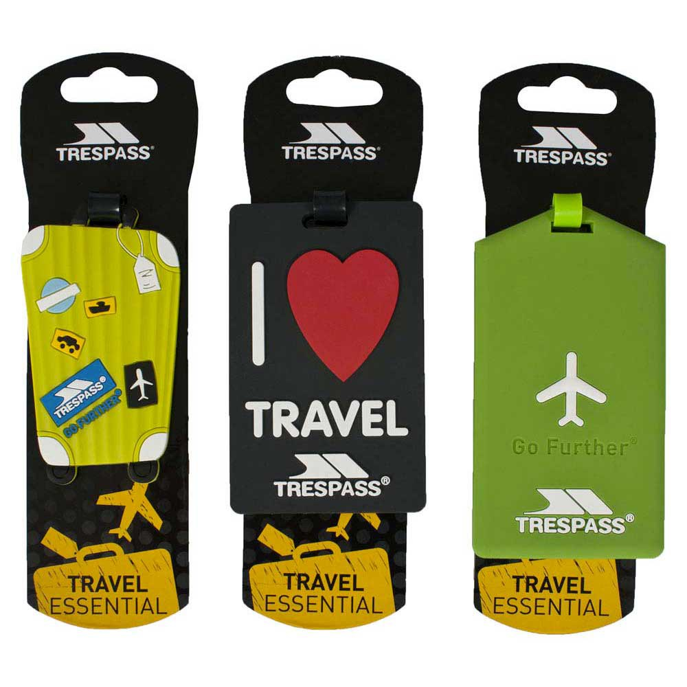 Trespass Traveltag Luggage Tags